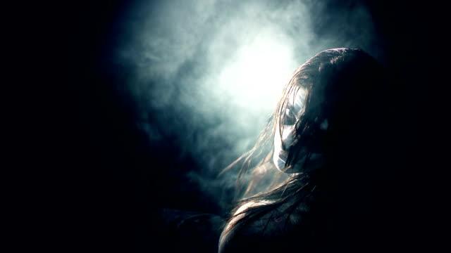 girl evil possessed demon horror video