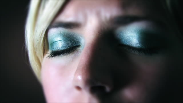 girl eyes and memory HD video