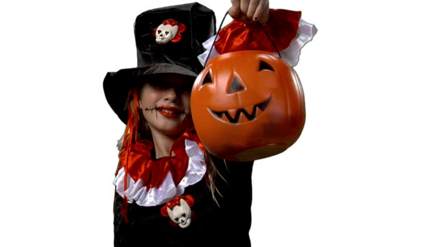 HD Girl Halloween Costume video