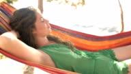 Girl In A Hammock video
