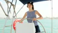 girl in a pirate hat video