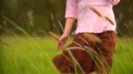 Girl in Field video