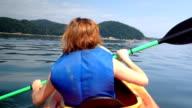 Girl in Kayak video