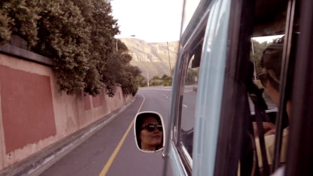 Girl in rear view mirror video