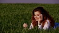 Girl in the field video