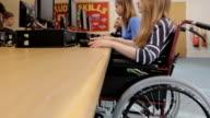 JIB: Girl in wheelchair video