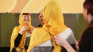 Girl In Yellow Scarf video