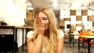 Girl Is Yawning video