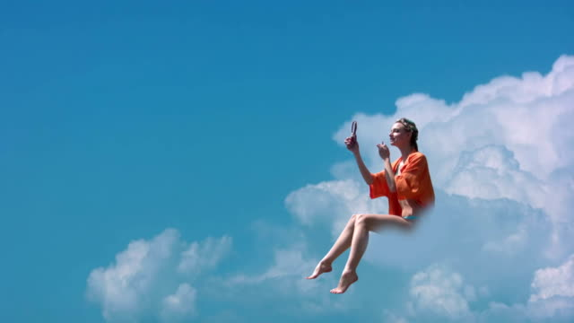 Girl on a cloud video