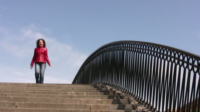 Girl on bridge video