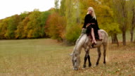 Girl On Horse video