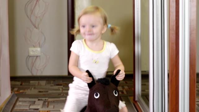 Girl on horse video