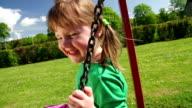 SLOW MOTION: Girl on Swing video