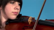 Girl Playing Violin video