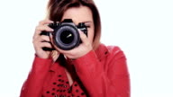 girl taking a photo video