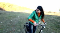 Girl with a bicycle video