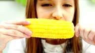 girl with corn video