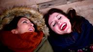 Girlfriends Gossiping and Flirting video