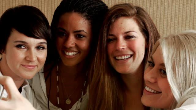 Girlfriends Party Selfie video