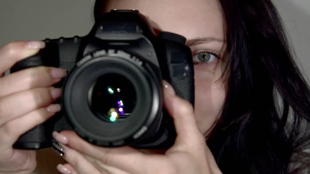 Girl-Photographer Takes the Picture video