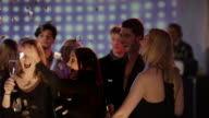 Girls gossip at the bar video