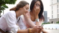 Girls talk on the street video