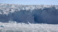 Glacial ice avalanche part 2 video