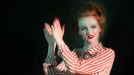 Glam retro diva video