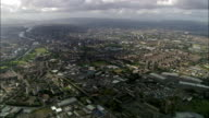 Glasgow  - Aerial View - Scotland, Glasgow City, United Kingdom video