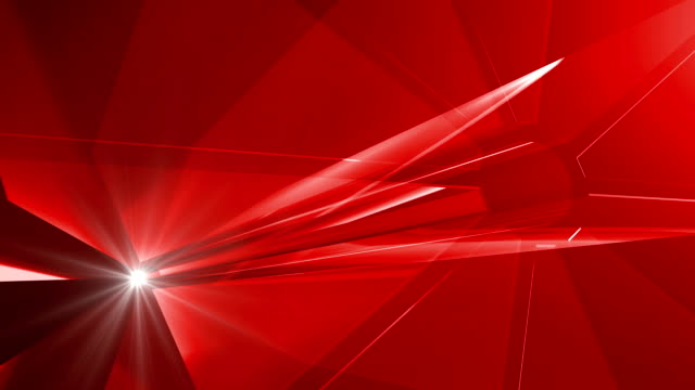 Glass background in red video
