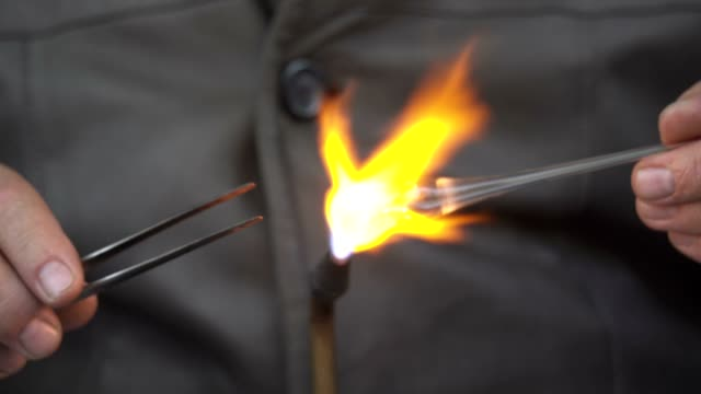 Glass Blowing video