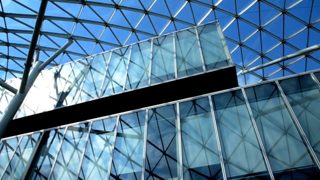 Glass Building In Expo video