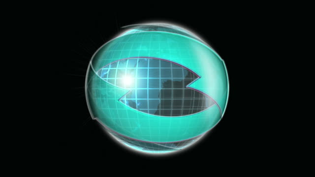 Glass Earth Blue Arrows video