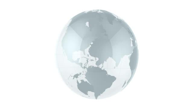 4K Glass Globe Animation | Loopable video