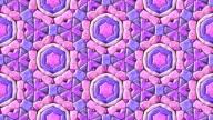 Glass mosaic kaleidoscope video