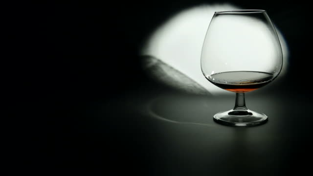 Glass of Brandy video