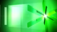 Glass Prism Wheel Background Green video