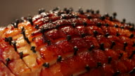 Glazed Holiday Ham with Cloves video