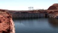 Glen Canyon Dam Arizona video