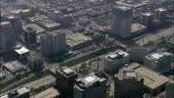 Glendale  - Aerial View - California,  Los Angeles County,  United States video