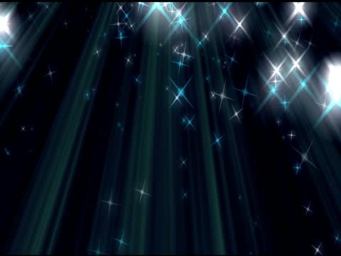 Glitter Streaks Shiny Stars Background Loop video