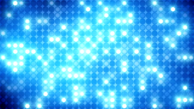 glittering blue mosaic disco wall loopable background video