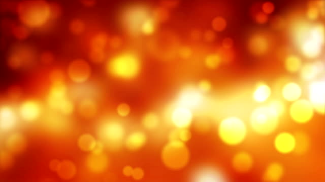 Glittering Colorful Particles Lights Abstract Background video