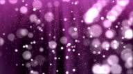 Glittering in Purple background video