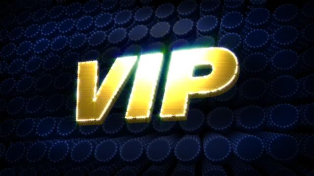 VIP Glitz Sparkle Text video