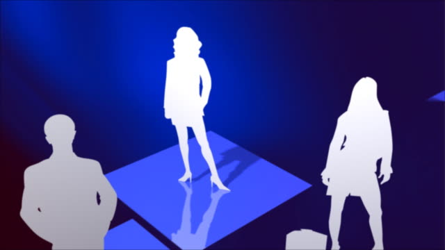Global business team video