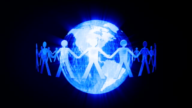 Global communication chain video