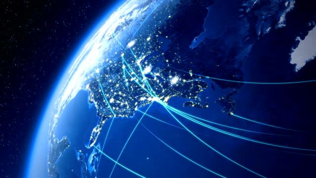 Global Communications. USA. video