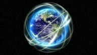 Global network. video