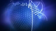 Global network. Viral marketing. video